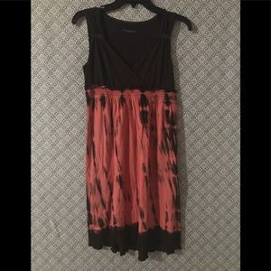 Calvin Klein tie dye style sleeveless dress
